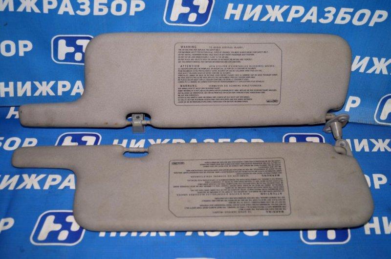 Козырек солнцезащитный Mitsubishi Carisma DA 1.8 GDI (4G93) 1998 (б/у)