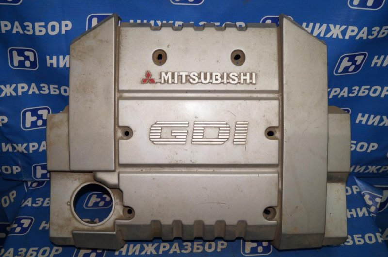 Накладка двигателя декоративная Mitsubishi Carisma DA 1.8 GDI (4G93) 1998 (б/у)