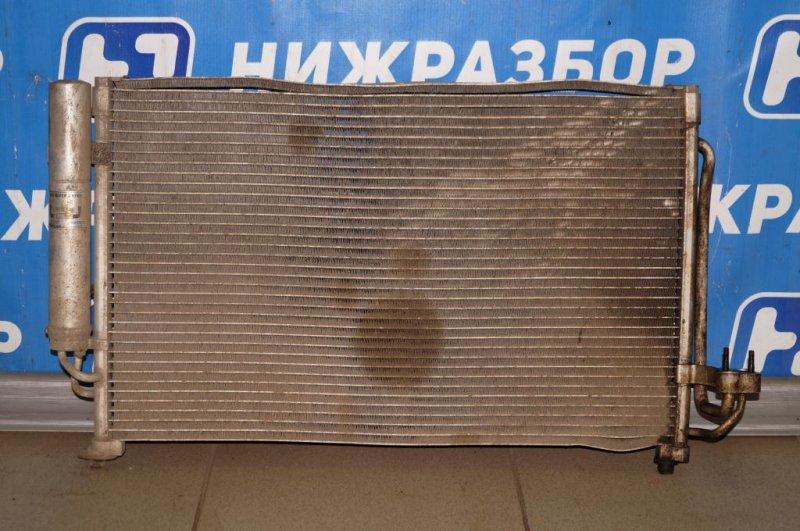 Радиатор кондиционера (конденсер) Kia Rio 1 DC 1.5 (A5D) 2003 (б/у)