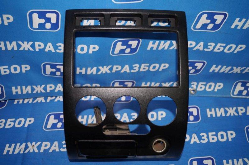 Рамка магнитолы Kia Rio 1 DC 1.5 (A5D) 2003 (б/у)