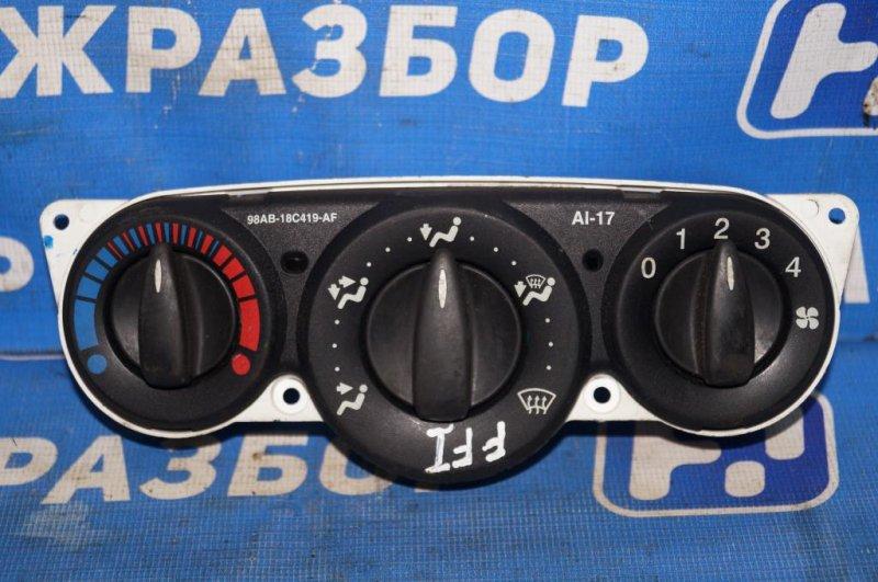 Блок управления отопителем Ford Focus 1 СЕДАН 2.0L ZETEC 2002 (б/у)