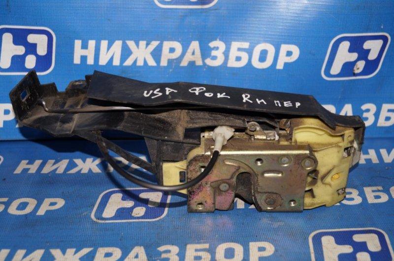 Замок Ford Focus 1 СЕДАН 2.0L ZETEC 2002 передний правый (б/у)