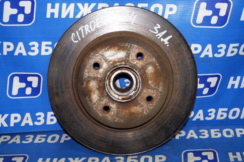 Диск тормозной Citroen C4 задний (б/у)
