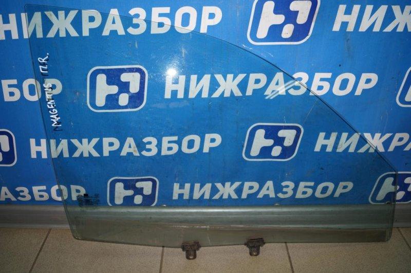Стекло двери Kia Magentis 1 2.0L (G4JP) 2006 переднее правое (б/у)