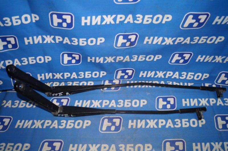 Поводок стеклоочистителя к-кт Ford Focus 2 СЕДАН 1.6L (HXDB) 2006 (б/у)