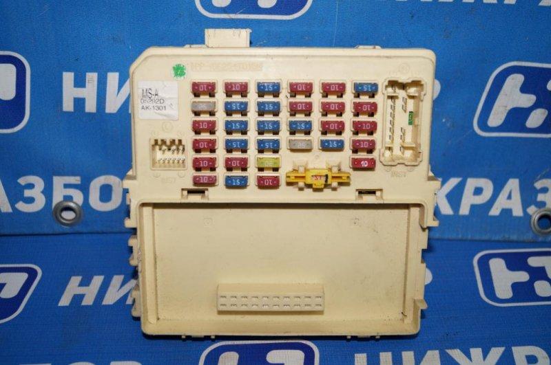 Блок предохранителей Kia Magentis 1 2.0L (G4JP) 2006 (б/у)