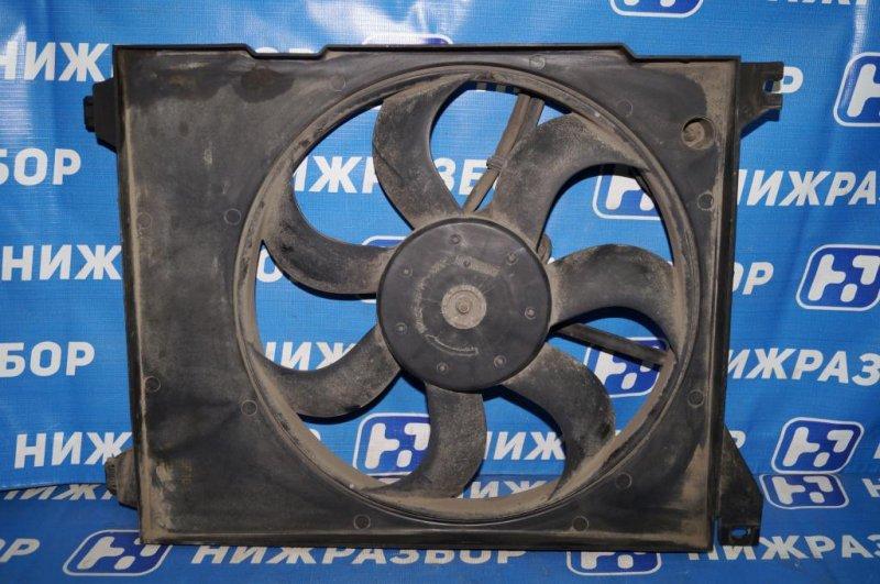 Вентилятор радиатора кондиционера Kia Magentis 1 2.0L (G4JP) 2006 (б/у)