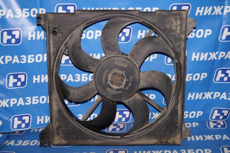 Вентилятор радиатора Kia Magentis 1 2.0L (G4JP) 2006 (б/у)