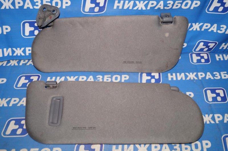 Козырек солнцезащитный Kia Magentis 1 2.0L (G4JP) 2006 (б/у)