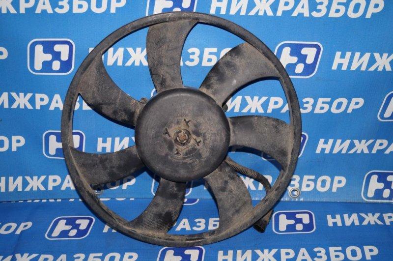 Вентилятор радиатора Hyundai Matrix 1.8L (G4GB) 2005 (б/у)