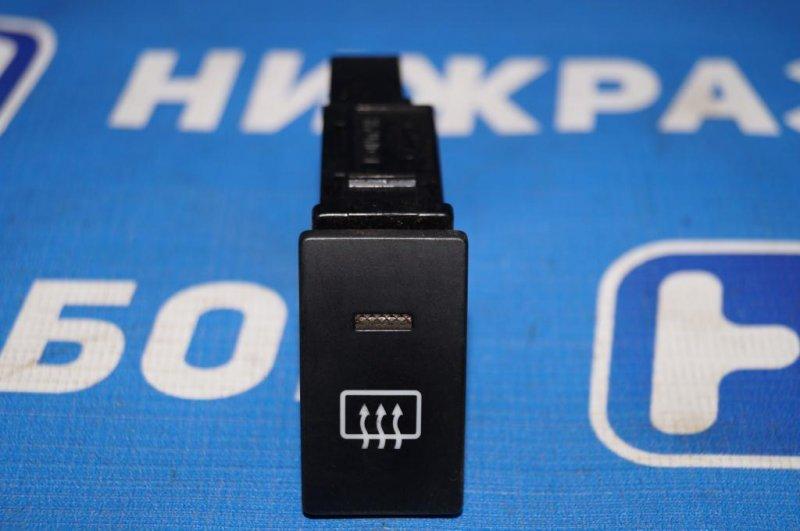 Кнопка обогрева стекла Hyundai Matrix 1.8L (G4GB) 2005 задняя (б/у)
