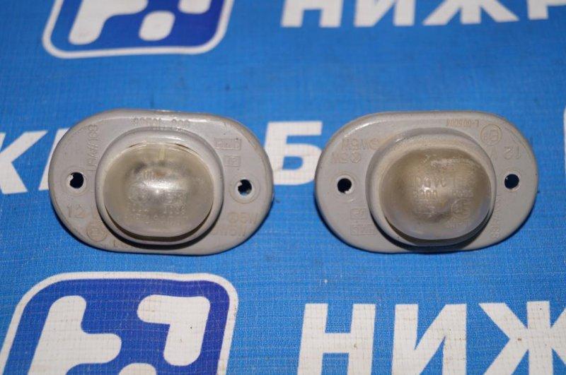Фонарь подсветки номера Hyundai Matrix 1.8L (G4GB) 2005 (б/у)