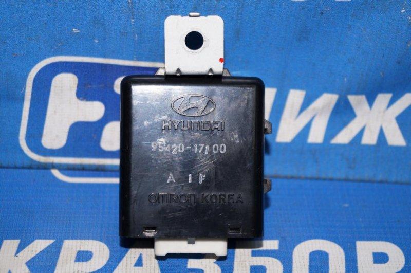 Реле стеклоочистителей Hyundai Matrix 1.8L (G4GB) 2005 (б/у)
