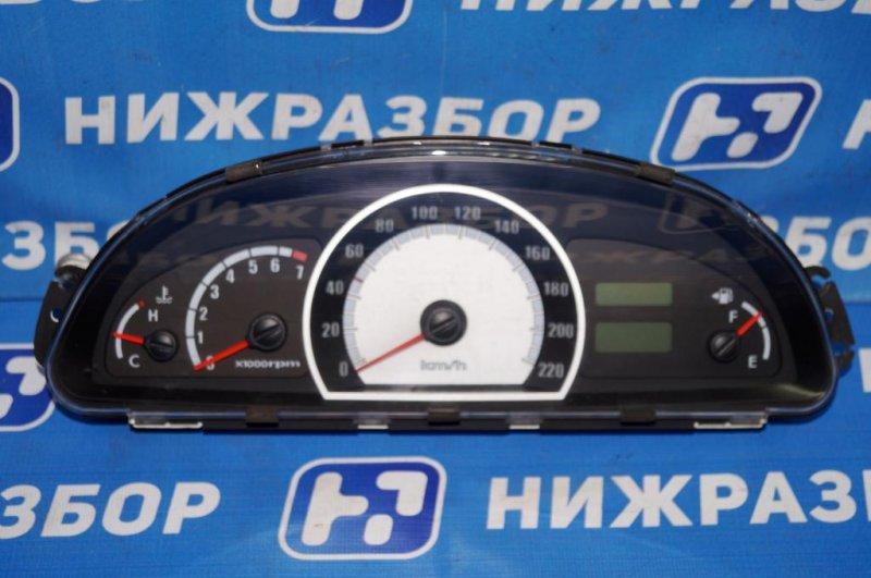Панель приборов Hyundai Matrix 1.8L (G4GB) 2005 (б/у)