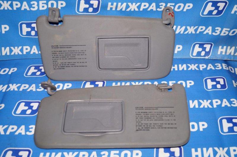 Козырек солнцезащитный Hyundai Matrix 1.8L (G4GB) 2005 (б/у)