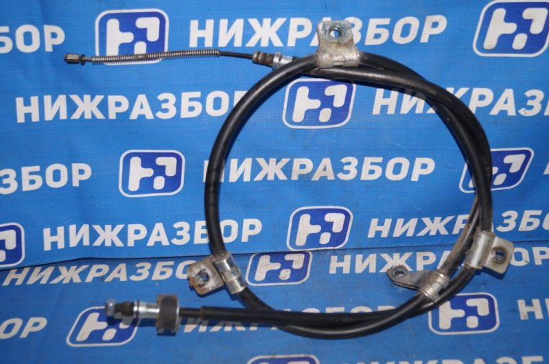 Трос ручника Hyundai Matrix 1.8L (G4GB) 2005 (б/у)