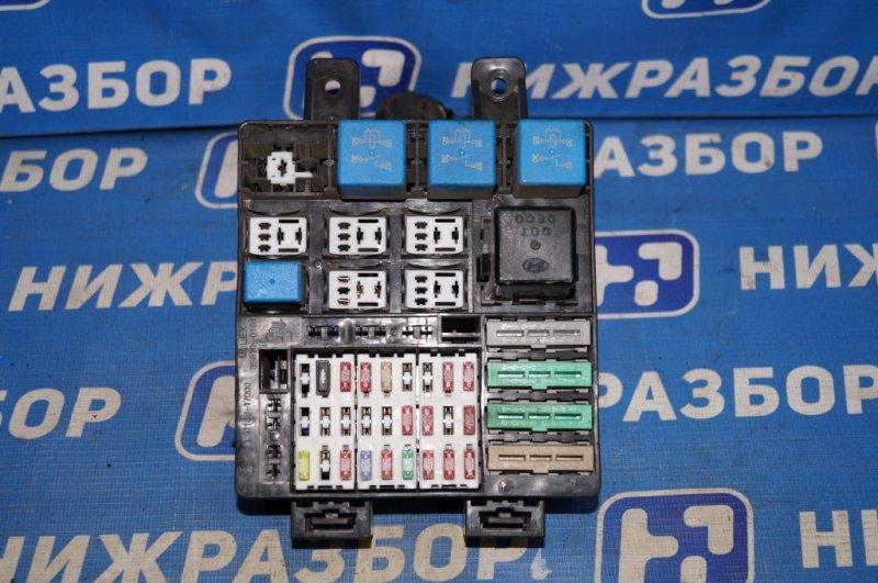 Блок предохранителей Hyundai Matrix 1.8L (G4GB) 2005 (б/у)