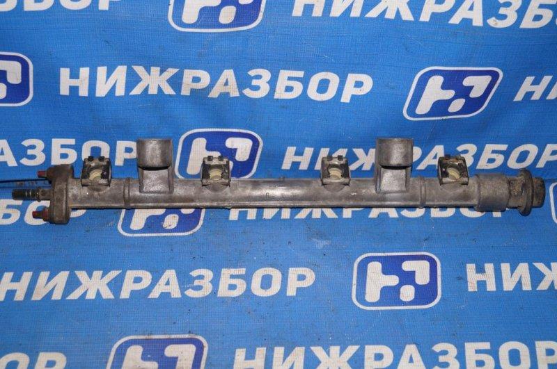 Рампа топливная Hyundai Matrix 1.8L (G4GB) 2005 (б/у)