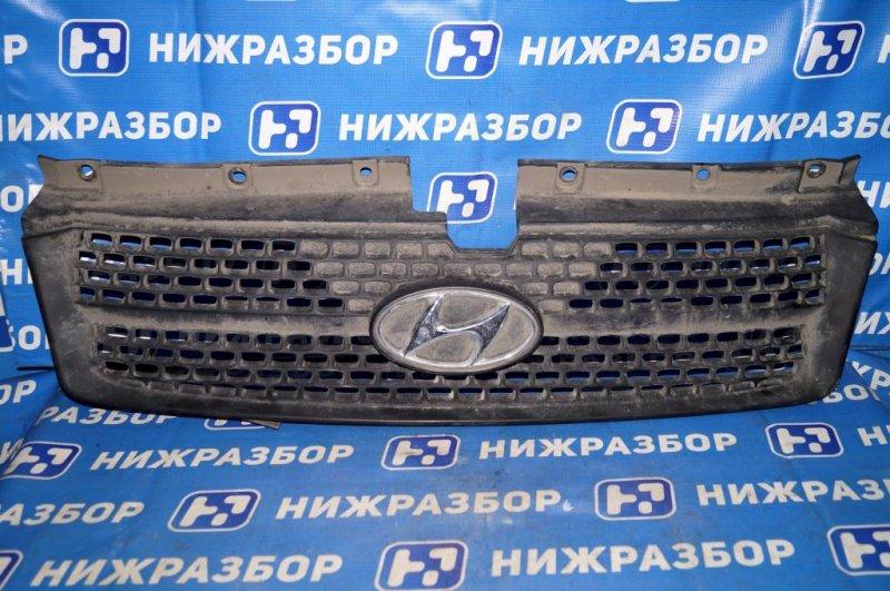 Решетка радиатора Hyundai Matrix 1.8L (G4GB) 2005 (б/у)