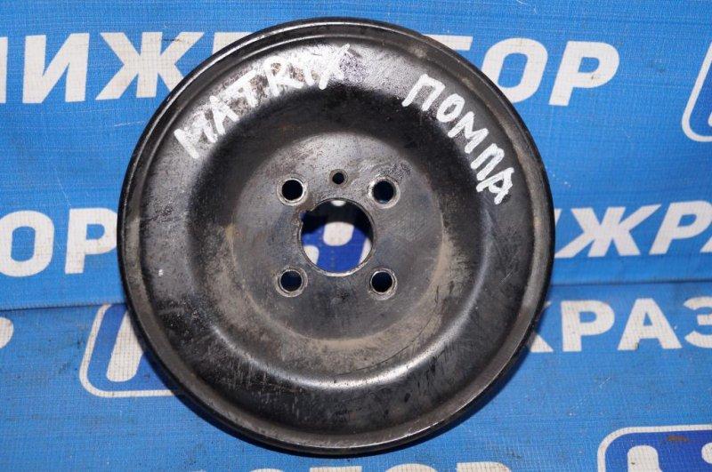 Шкив помпы Hyundai Matrix 1.8L (G4GB) 2005 (б/у)