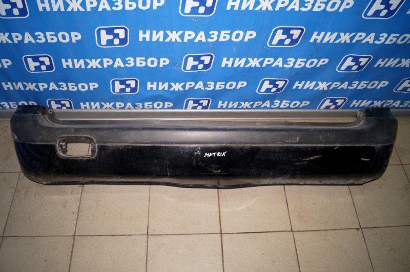 Бампер Hyundai Matrix 1.8L (G4GB) 2005 задний (б/у)