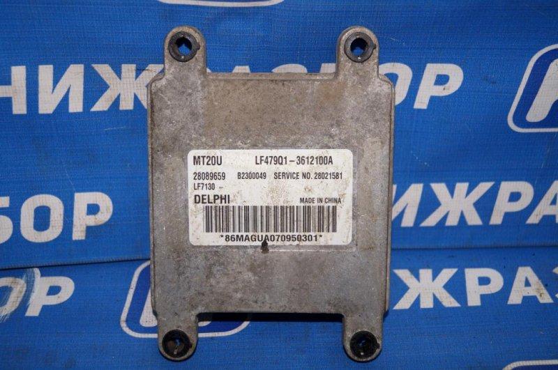 Блок управления двигателем Lifan Breez 520 1.3 (LF479Q3) 2007 (б/у)