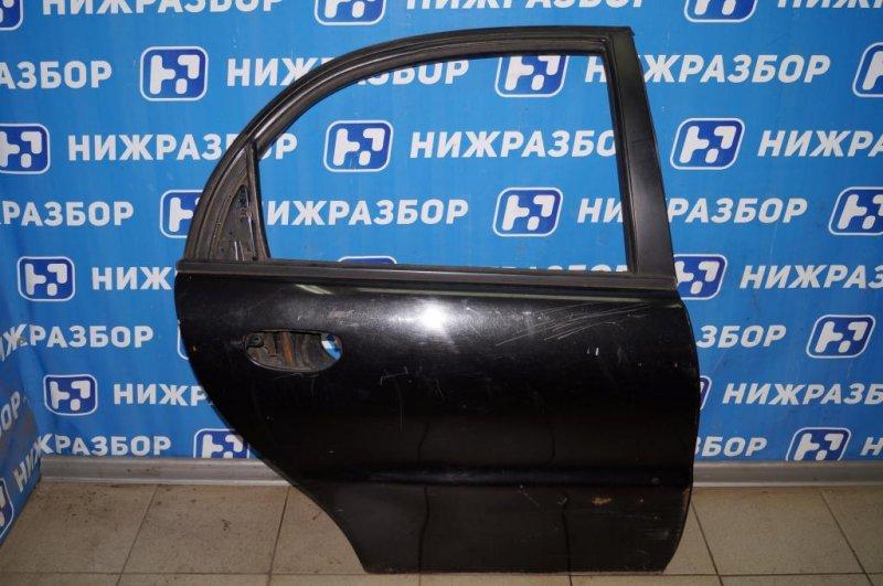 Дверь Chevrolet Lanos 1.5 (A15SMS) 2008 задняя правая (б/у)