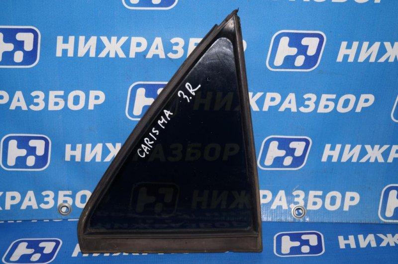 Форточка двери Mitsubishi Carisma DA 1.6 4G92 2001 задняя правая (б/у)