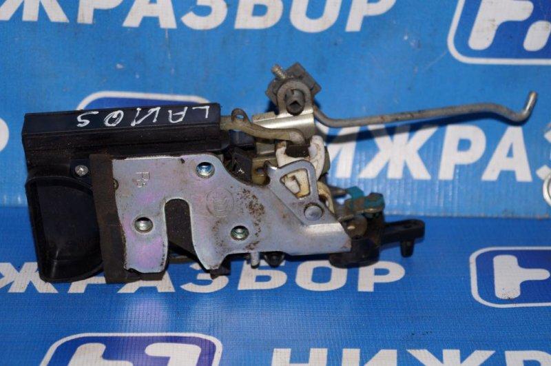 Замок Chevrolet Lanos 1.5 (A15SMS) 2008 задний правый (б/у)