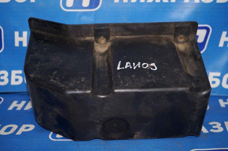 Кронштейн усилителя бампера Chevrolet Lanos 1.5 (A15SMS) 2008 задний (б/у)