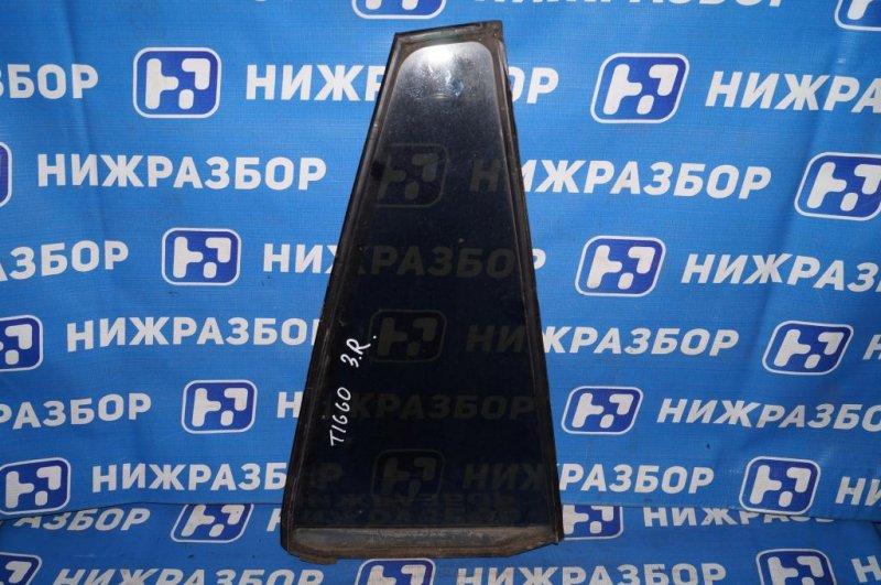Форточка двери Chery Tiggo T11 2.4 (4G64S4M) 2005 задняя правая (б/у)