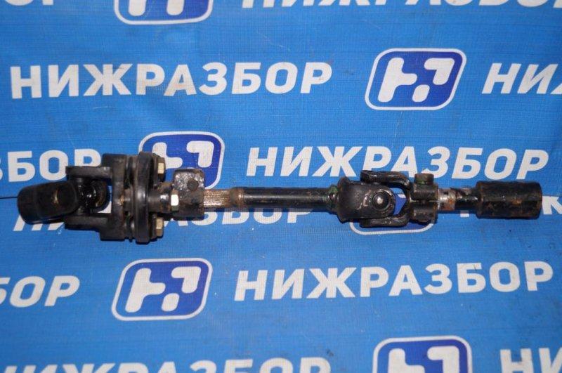 Кардан рулевой Chery Tiggo T11 2.4 (4G64S4M) 2005 левый (б/у)