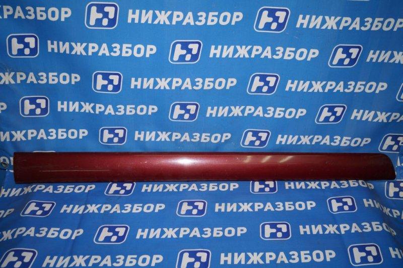 Молдинг двери Chery Tiggo T11 2.4 (4G64S4M) 2005 передний левый (б/у)