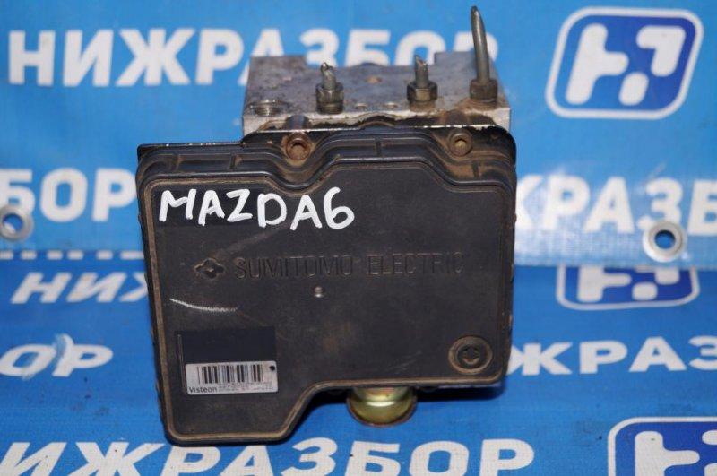 Блок abs (насос) Mazda 6 GG 2.0 LF 2004 (б/у)