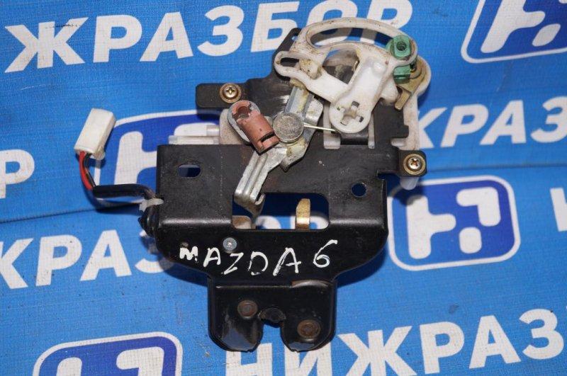 Замок багажника Mazda 6 GG 2.0 LF 2004 (б/у)