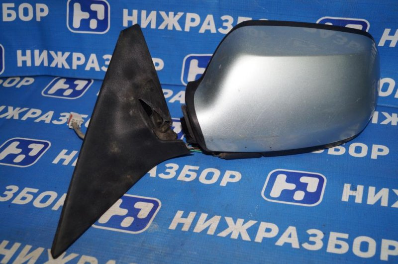 Зеркало электрическое Mazda 6 GG 2.0 LF 2004 левое (б/у)
