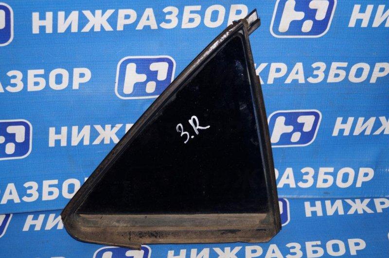Форточка двери Mazda 6 GG 2.0 LF 2004 задняя правая (б/у)