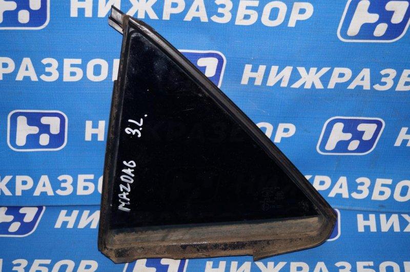 Форточка двери Mazda 6 GG 2.0 LF 2004 задняя левая (б/у)