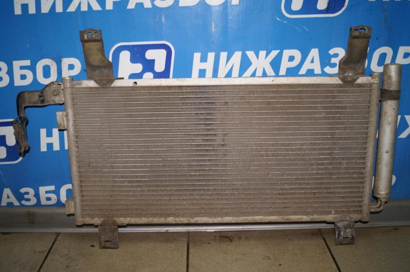 Радиатор кондиционера (конденсер) Mazda 6 GG 2.0 LF 2004 (б/у)