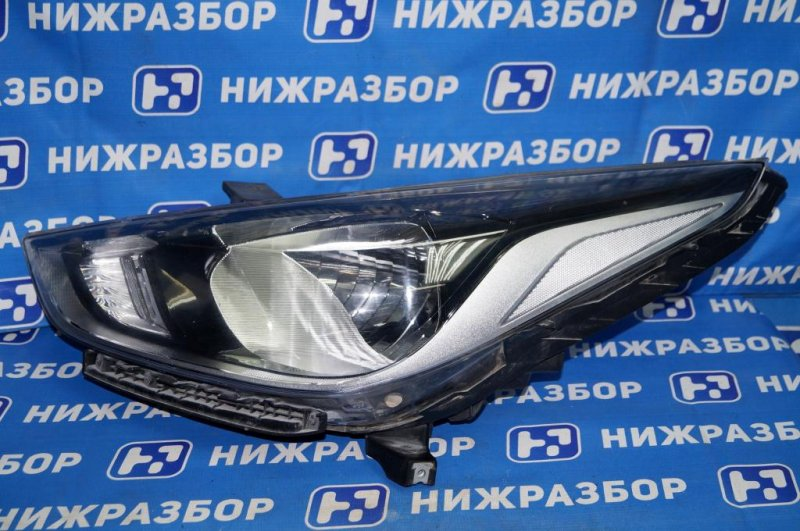 Фара Hyundai Solaris 2 HCR 2017 левая (б/у)