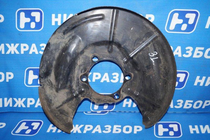 Пыльник тормозного диска Mazda Cx 5 KE 2.0 PE 2016 (б/у)