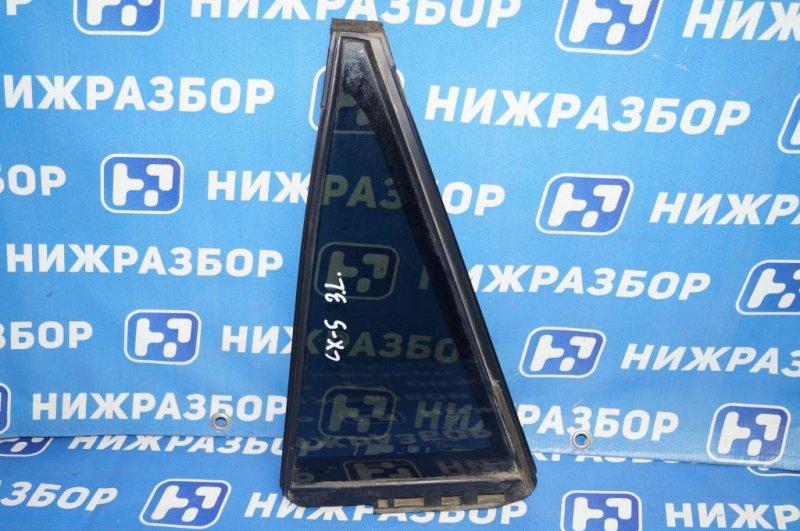 Форточка двери Mazda Cx 5 KE 2.0 PE 2016 задняя левая (б/у)