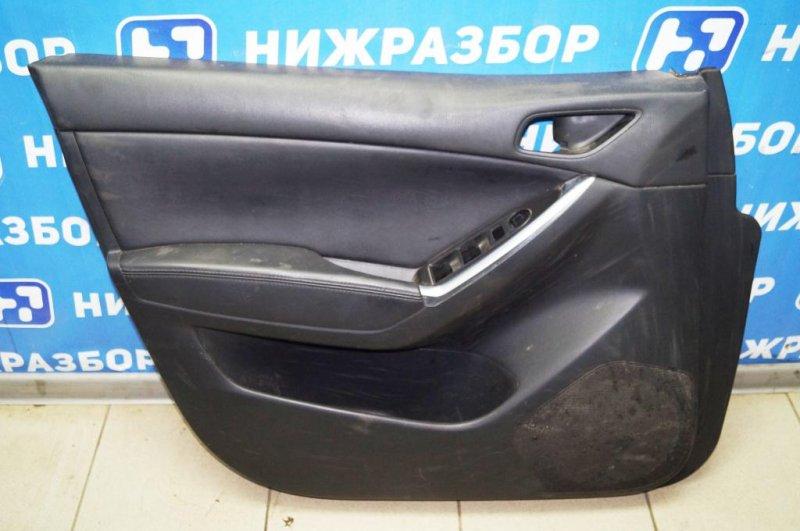 Обшивка двери Mazda Cx 5 KE 2.0 PE 2016 передняя левая (б/у)