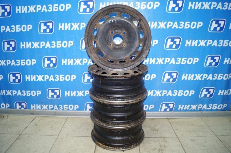 Диск штампованный к-кт Ford Focus 1 СЕДАН 2.0L SPLIT PORT 2002 (б/у)
