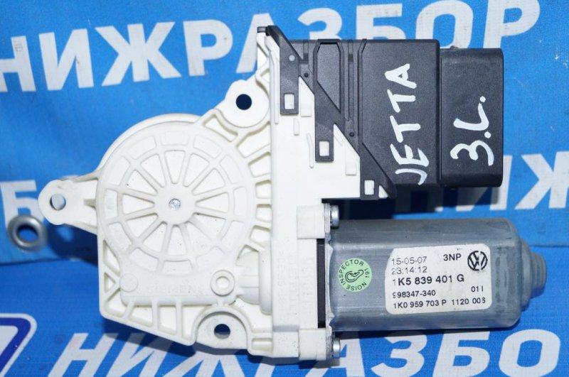 Моторчик стеклоподъемника Volkswagen Jetta 5 1.6 BSE 2007 (б/у)