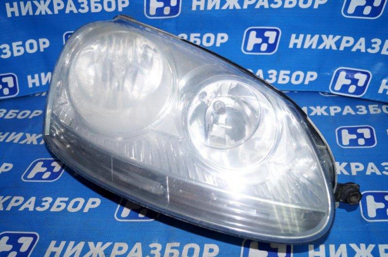 Фара Volkswagen Jetta 5 1.6 BSE 2007 правая (б/у)