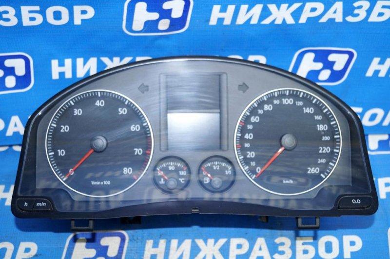 Панель приборов Volkswagen Jetta 5 1.6 BSE 2007 (б/у)