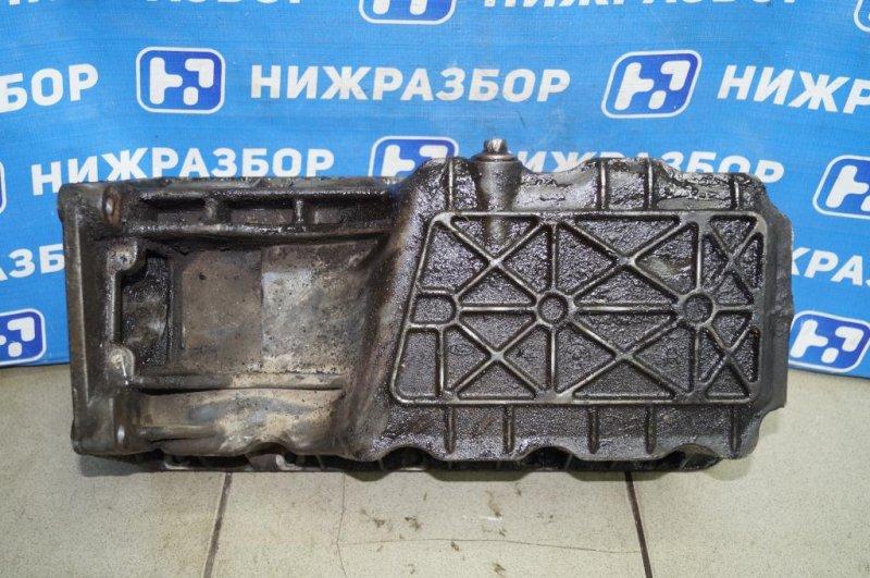 Поддон масляный двигателя Ford Focus 1 СЕДАН 2.0L SPLIT PORT 2002 (б/у)