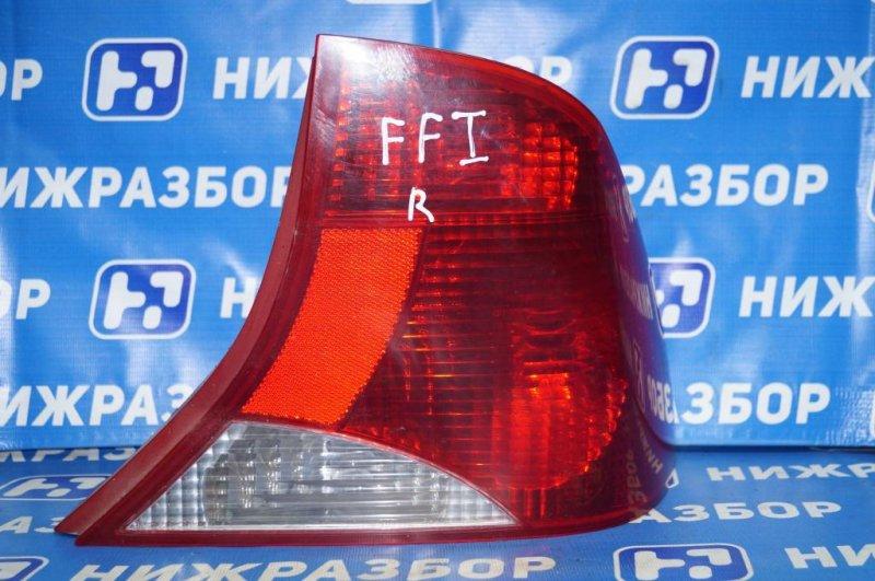 Фонарь Ford Focus 1 СЕДАН 2.0L SPLIT PORT 2002 задний правый (б/у)