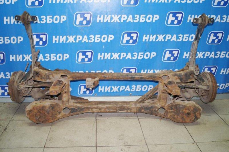 Балка Ford Focus 1 СЕДАН 2.0L SPLIT PORT 2002 задняя (б/у)